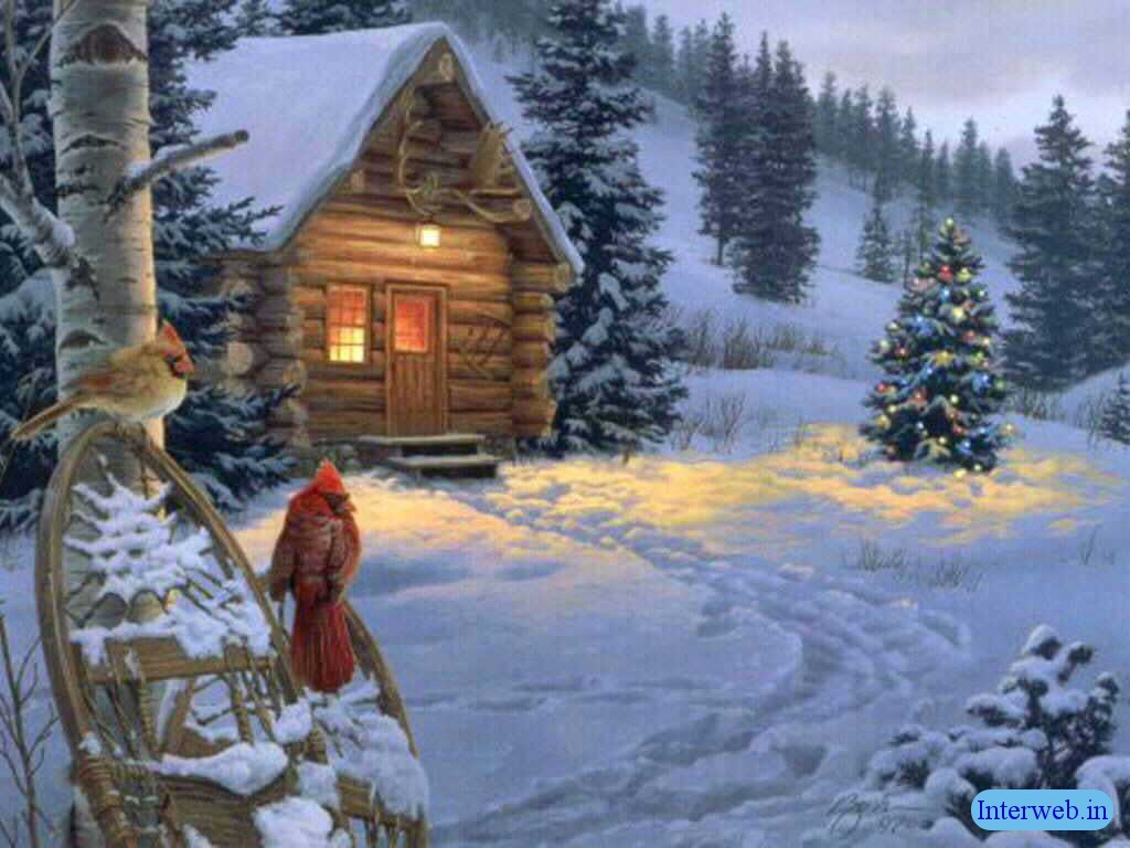 Beautiful snow scenry harry styles 2013 - Christmas nature wallpaper ...