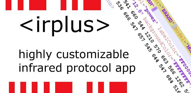 تنزيل تطبيق  irplus - Infrared Remote تطبيق اندرويد للاشعة تحت الحمراء