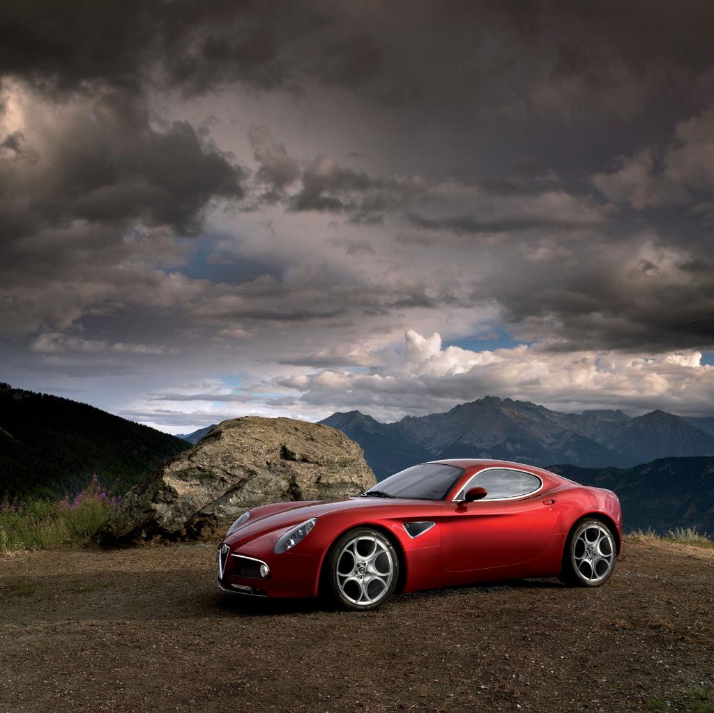 World Of Cars: Alfa Romeo 8c