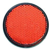 Kırmızı yuvarlak reflektör