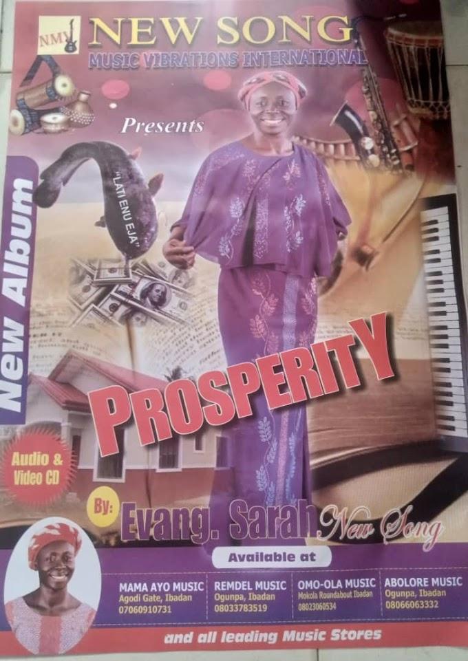 Music: Prosperity - Sarah New Song