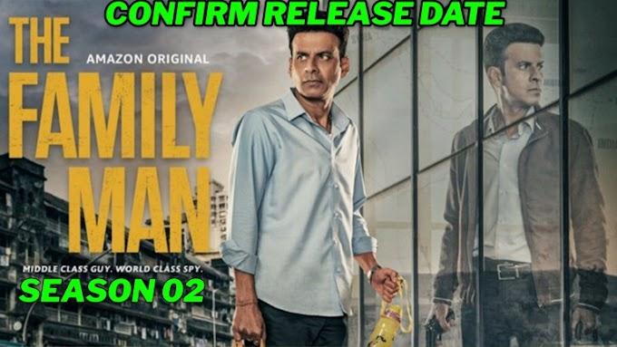 The  Family Man Season 02 New Release Date, The Family Man Season 02 Trailer, Manoj Bajpai, Samantha Akkineni