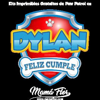 Logo de Paw Patrol: DYLAN