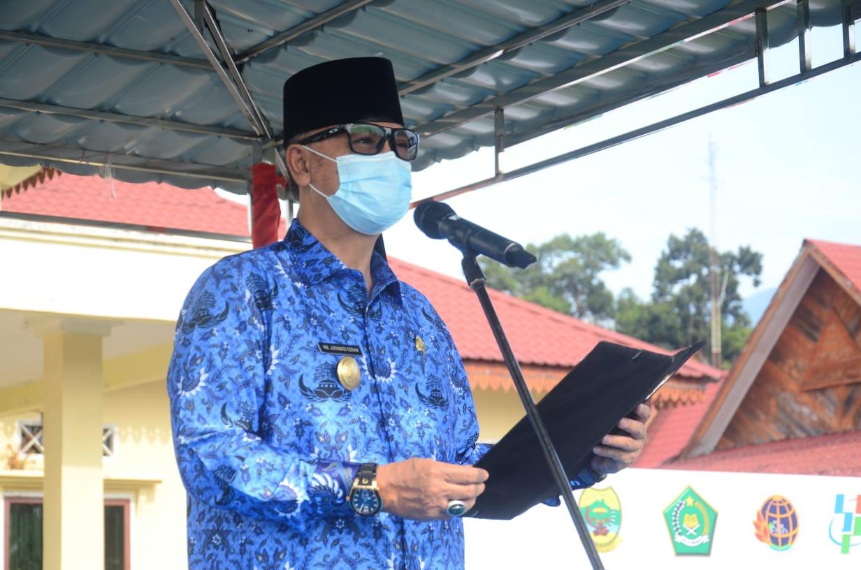 Anggota DPRD Lingga Bersama Istrinya Terkonfirmasi Positif Covid-19