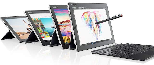 Lenovo's Miix 510 is an attractive Windows tablet/keyboard combo