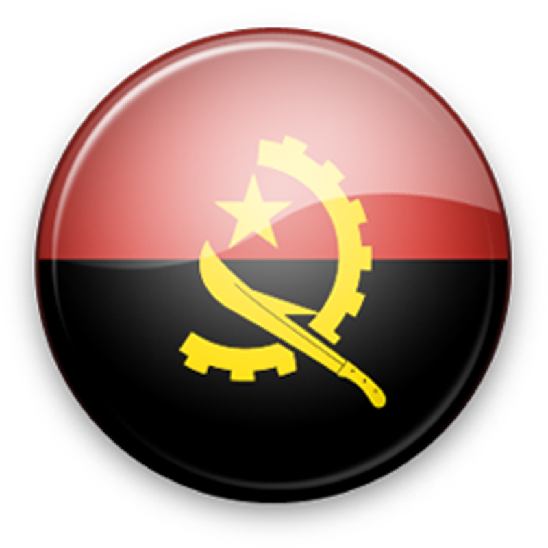 Angola Flag Icon