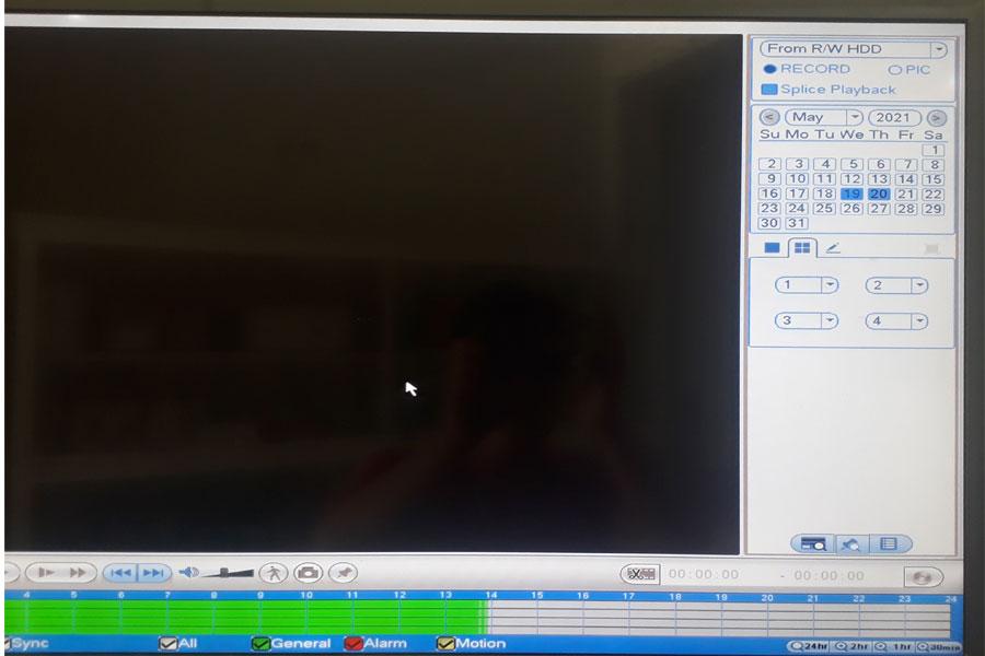đầu ghi hình kbvision15