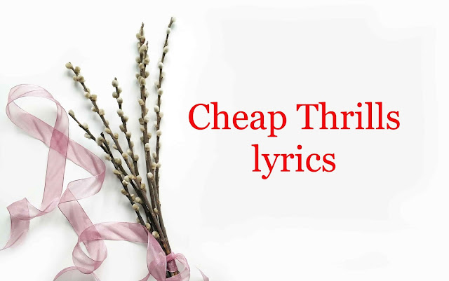 Cheap Thrills lyrics | Sia