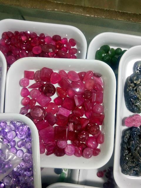 Đá quý Ruby thiên nhiên, Natural Ruby