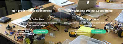 PCBWay sponsorship for your non-profit project