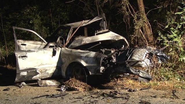 """Украинският шофьор отнел живота на четирима край """"Хаинбоаз"""" е влязъл в насрещното (СНИМКИ)"""