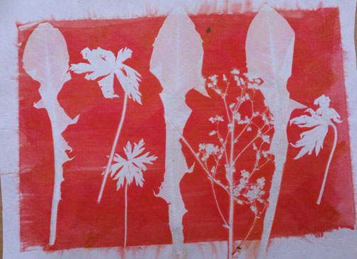 Kim's Hot Textiles: Transfer printing with The West Country