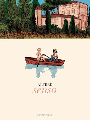 Couverture de Senso de Alfred chez Delcourt