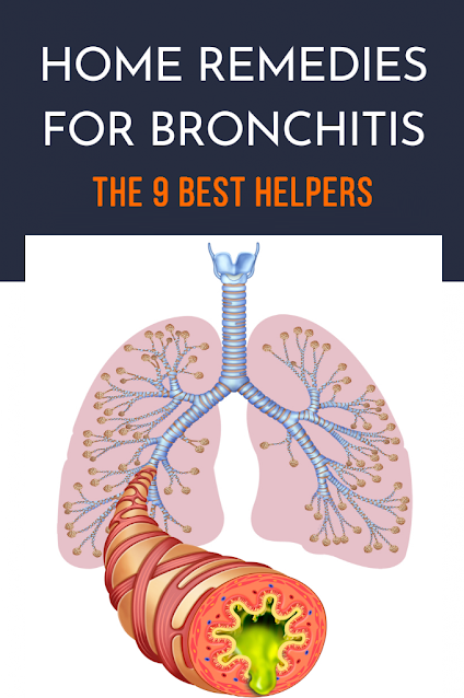 Home Remedies for Bronchitis: The 9 Best Helpers