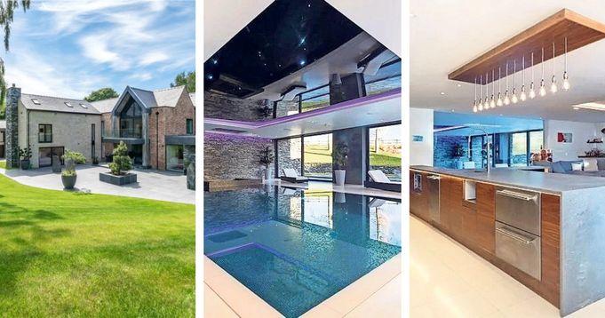 Cristiano Ronaldo beautiful multi-million-pound mansion at Manchester United revealed.