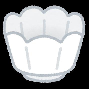 小鉢のイラスト(食器)