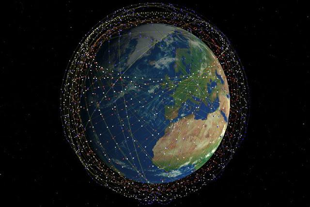 مشروع شركة سبيس اكس لتوفير الانترنت الفضائي فائق السرعة