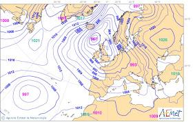 Cen De Maite Mapa Meteorologico