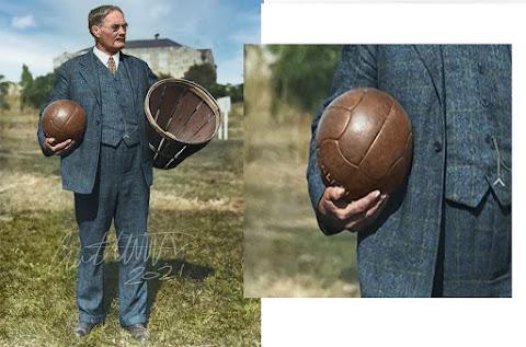 bola basket pertama