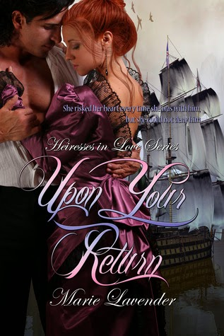 http://www.amazon.com/Upon-Your-Return-Marie-Lavender-ebook/dp/B00I0D9LQ8/ref=sr_1_3?s=books&ie=UTF8&qid=1405382151&sr=1-3&keywords=Marie+Lavender