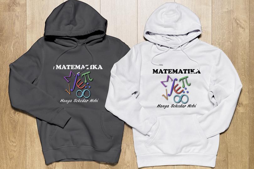 Jaket Hoodie Matematika