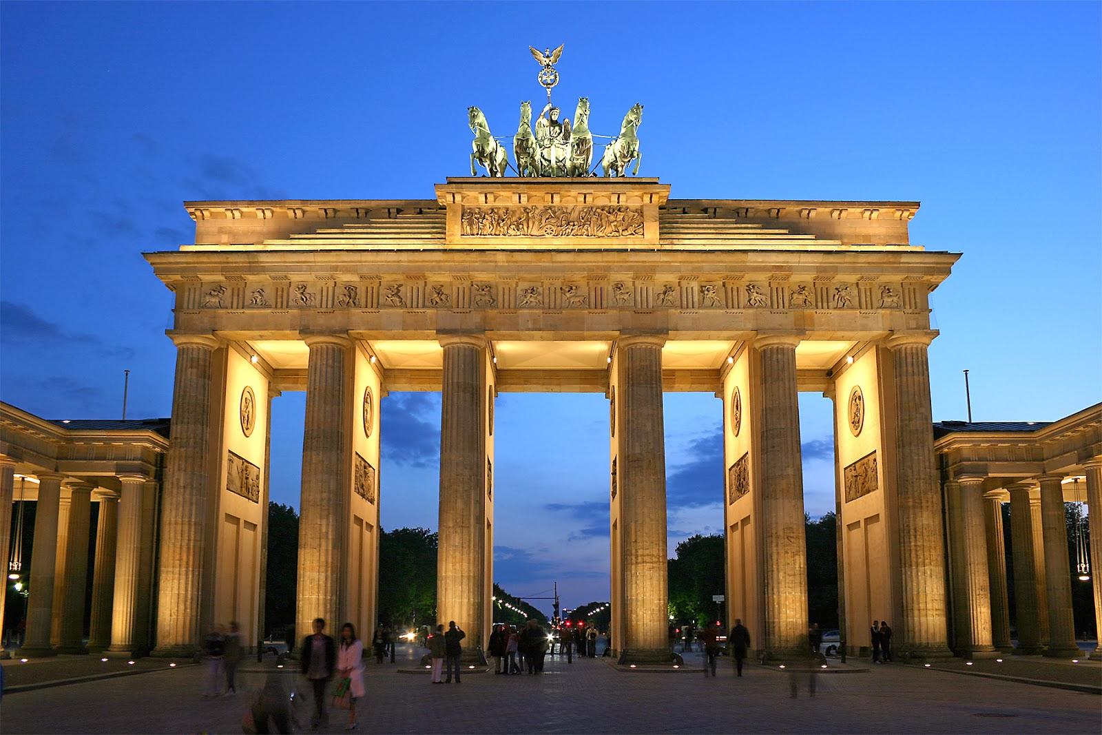 Portão de Brandemburgo Berlim Alemanha