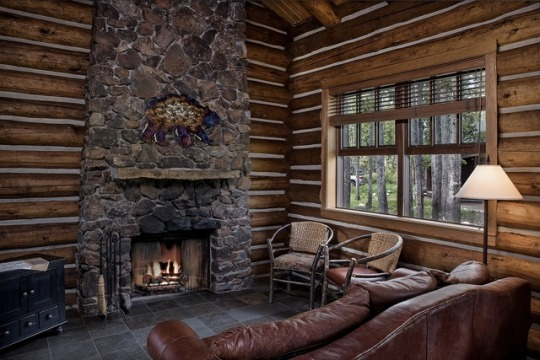 Дерев'яний будинок у лісі