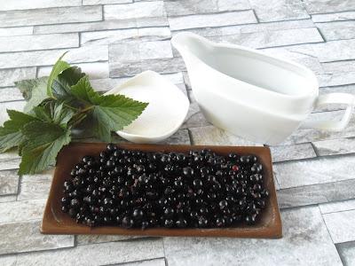 Sok z czarnej porzeczki - składniki