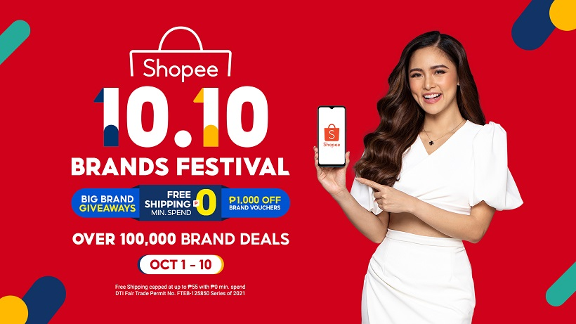 Shopee debuts Kim Chiu as Brand Ambassador, to Kick Off 10.10 Brands Festival