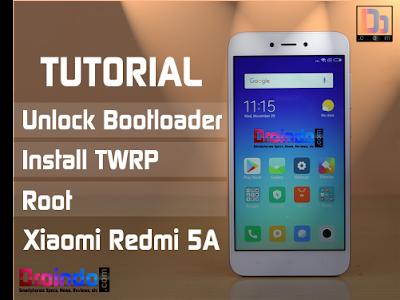 Cara Unlock Bootloader, install TWRP, dan Root Xiaomi Redmi 5A dengan mudah dan aman
