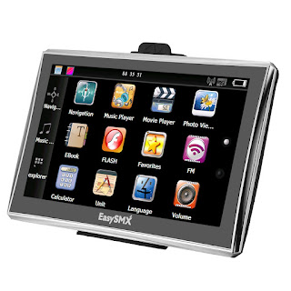 DEAL TODAY EasySMX 84H-3 GPS Navigator 7 Inch TFT LCD Touch Screen – £31.44