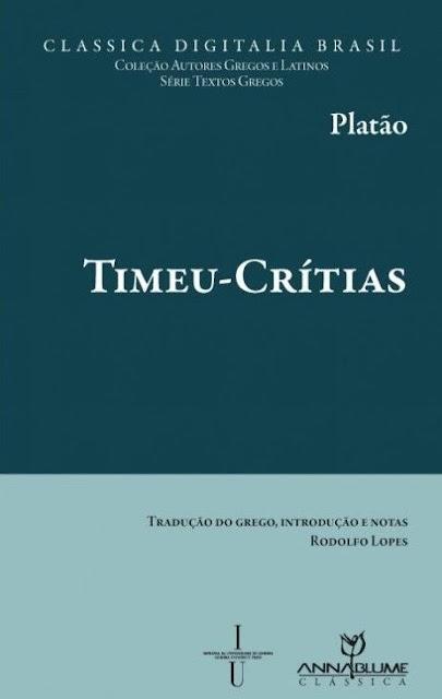 Timeu-Crítias - Platão