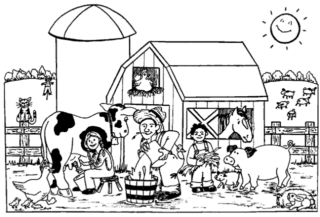 Sketsa Gambar Mewarnai Hitam Putih Hilo School 2018 Terbaru