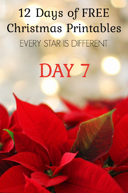 12 Days of FREE Christmas Printables: 4 Prompts to Encourage Mindfulness Visuals