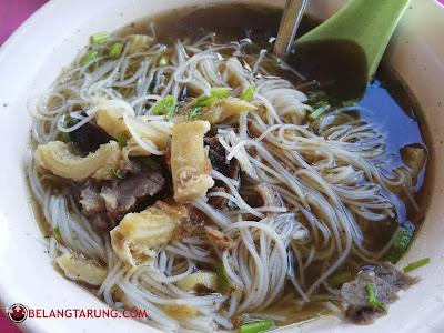 Bihun Sup Daging dan Perut