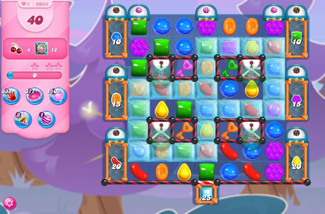 Candy Crush Saga level 9084