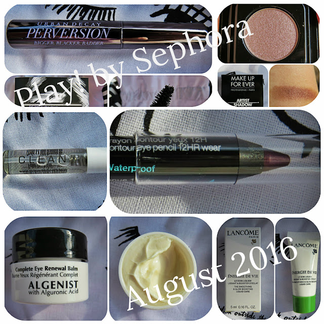 August 2016 Play! by Sephora Review
