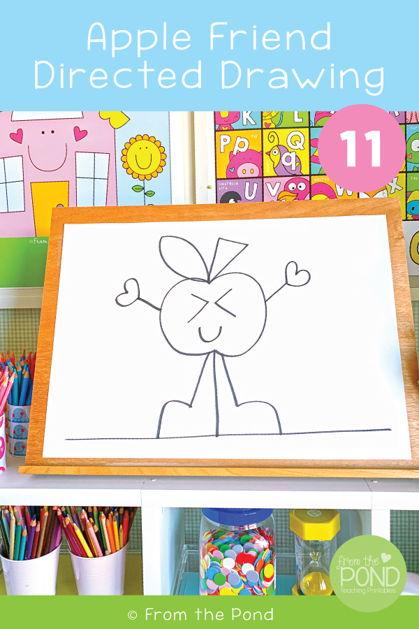 Apple Art Lesson