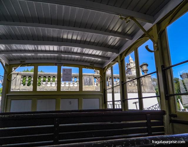Funicular do Santuário de Bom Jesus do Monte, Braga, Portugal