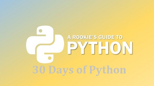 100% OFF | 30 Days of Python | Unlock your Python Potential - Udemy Coupon