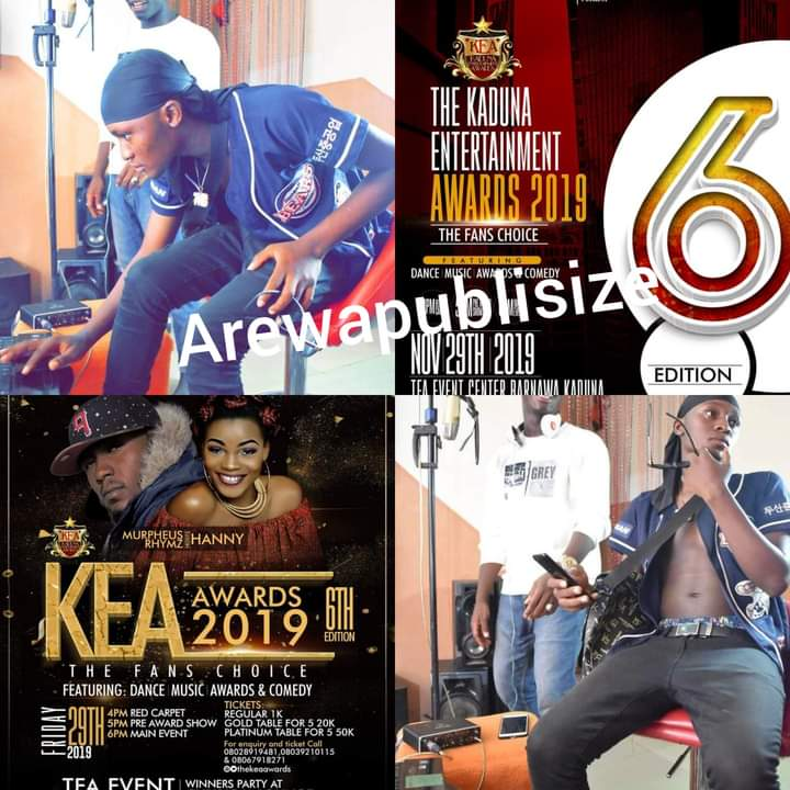 See how Kaduna Entertainment Awards (KEA) cheated on Sparrex tha rapper - details - #Arewapublisize