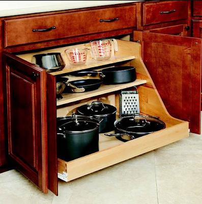 15 Desain Rak Dan Laci Dapur Minimalis Untuk Menyimpan Barang Yang Kreatif Dan Inovatif 11
