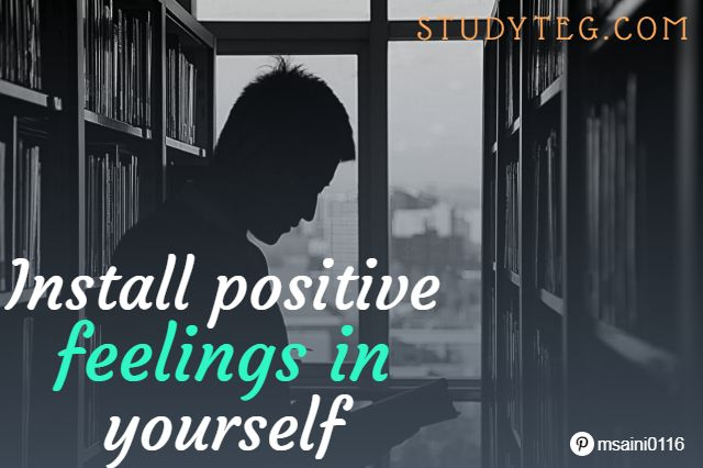 Self-motivation increases your confidence