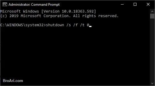 Penyebab Windows 10 Tidak Bisa Shutdown