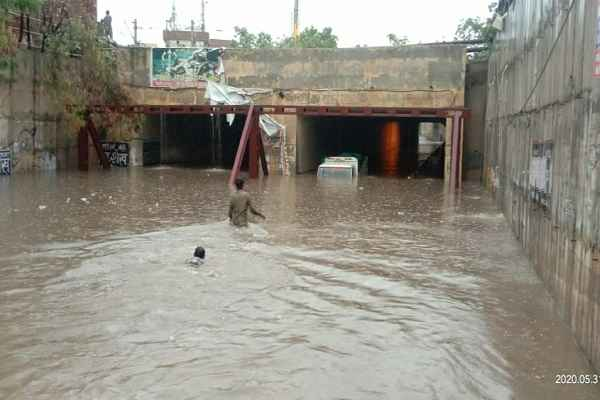 old-faridabad-railway-underpass-water-logging-problem-31-may-2020