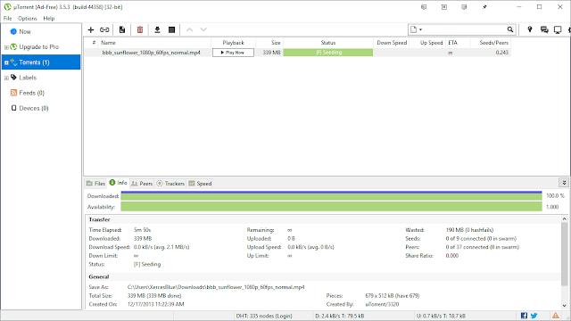 Descargar uTorrent para Windows en español