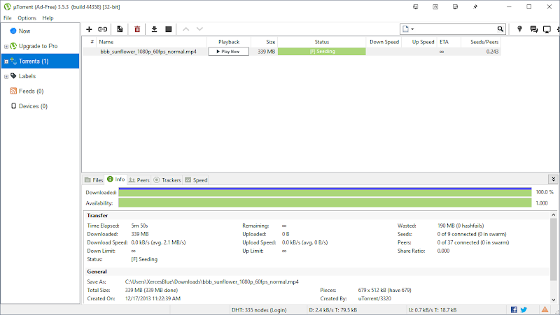 Descargar uTorrent para Windows PC