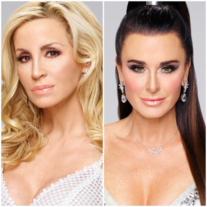 Camille Grammer And Kyle Richards Continue To Feud On Twitter Over RHOBH Drama — Read Their Shady Tweets Here!