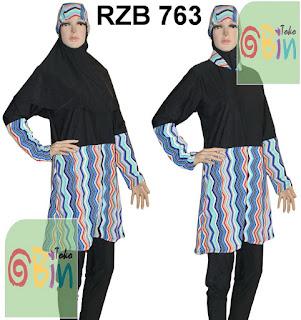 baju renang syari RZB 763