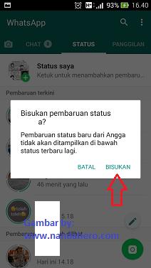 bisukan status wa